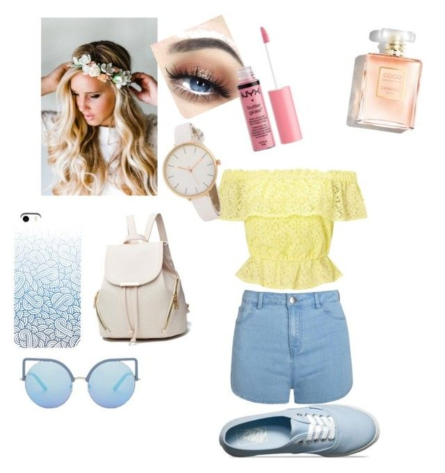 """Summer !🍃☀️🌴🦋"" by clemenceholgard on Polyvore featuring mode, Vans, Matthew Williamson, Emily Rose Flower Crowns, Miss Selfridge, Ally Fashion et Charlotte Russe"