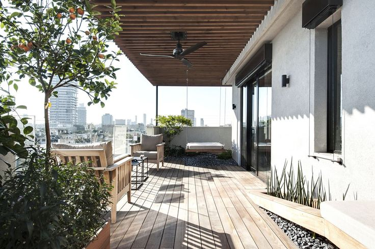 Duplex Penthouse And Roof Terrace In Tel Aviv - Picture gallery