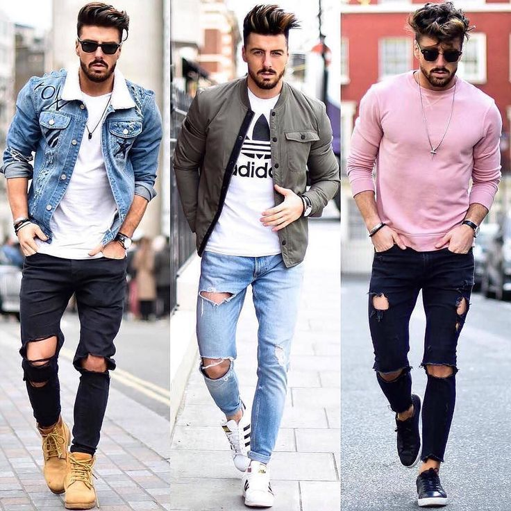 1 2 or 3? Which outfit is your favorite?  Via @streetfitsgallery  Follow @mensfashion_guide for more! By @rowanrow  #mensfashion_guide #mensguides