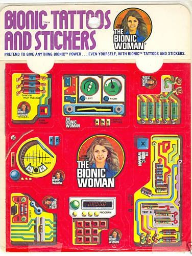 89 best images about the bionic woman on pinterest for Tattoo shops in kenner