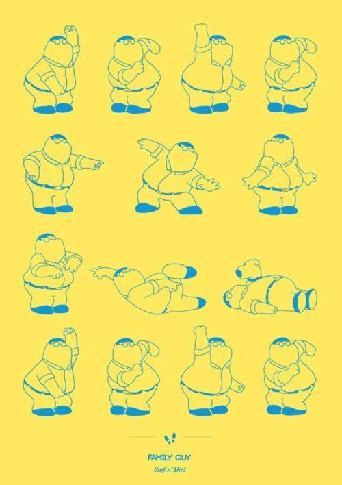 Family Guy Dance Moves