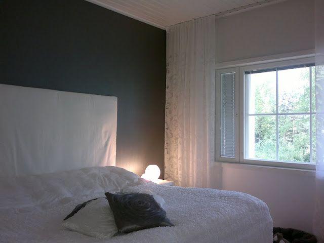 Kiinnitys kattoon, makuuhuone