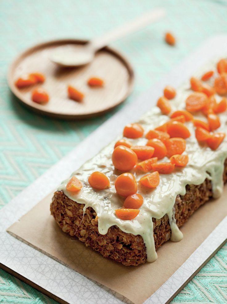 Mjölkfri kaka med grahamsmjöl som mättar. Kombinationen apelsin, kokos och vit choklad är alldeles ljuvlig!