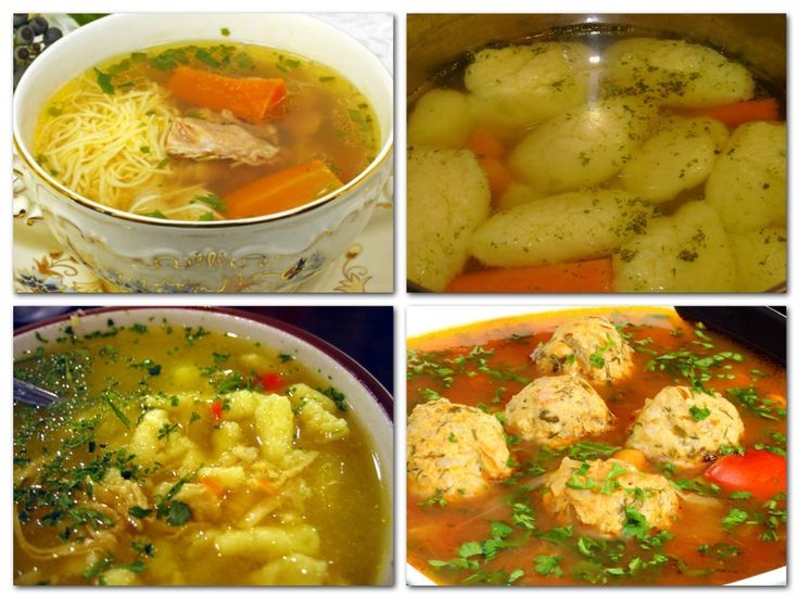 14 házias levesbetét