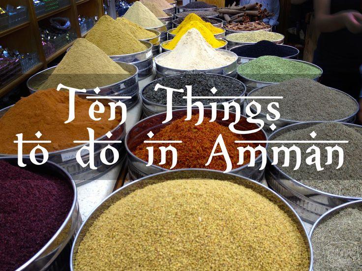 Ten Things to Do in Amman, Jordan - The Blonde Abroad