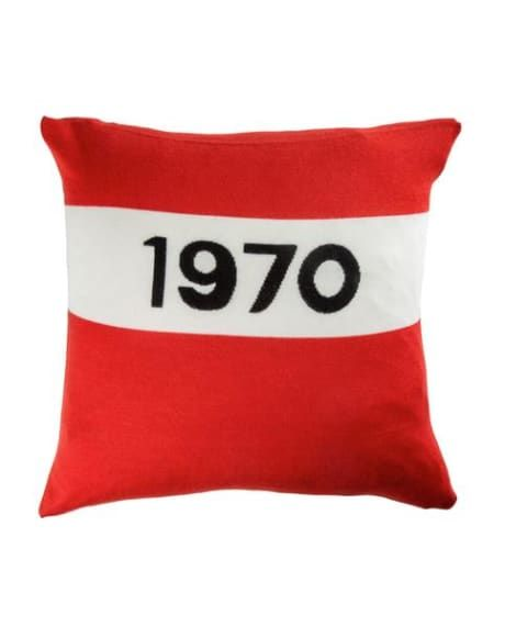 Trouva: Bella Freud Red 1970 Cushion Cover. Click through to shop.