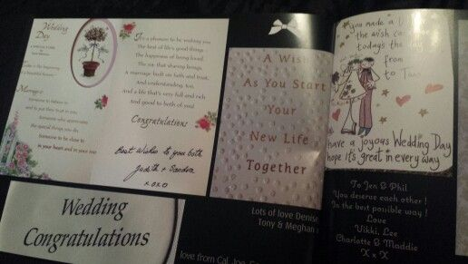 Our wedding cards 2