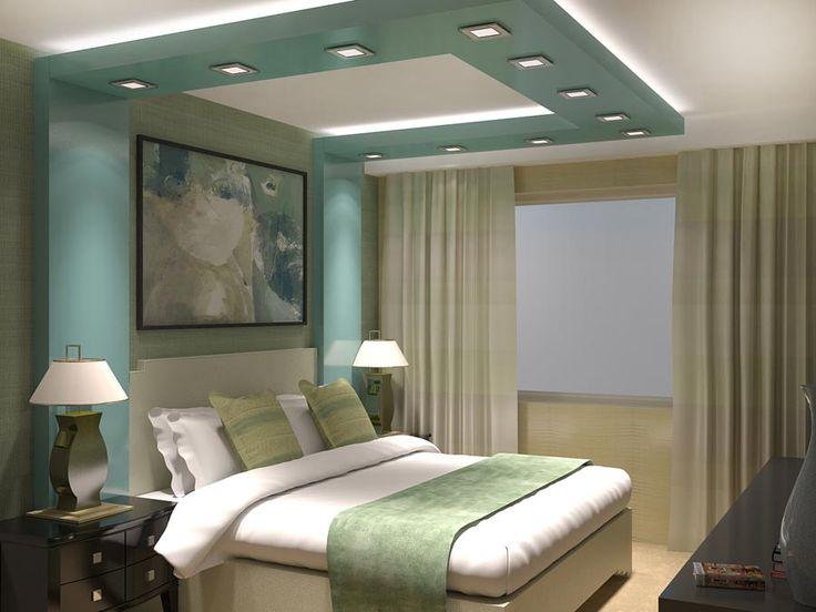 3-D визуализация спальни. Ракурс 1