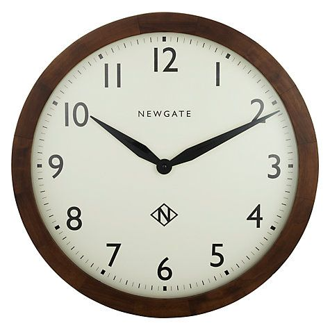 Buy Newgate Wimbledon Clock, Dia.45cm Online at johnlewis.com