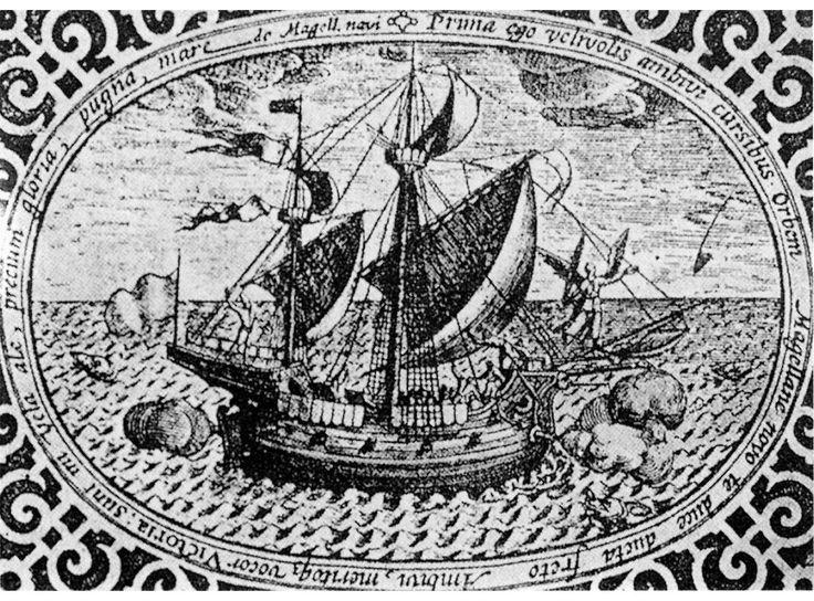 Juan Sebastián Elcano Ferdinand Magellan S Replacement: Nao Victoria