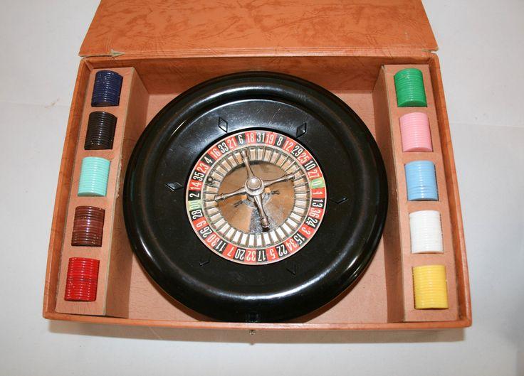 Vintage 50s Roulette Game Set