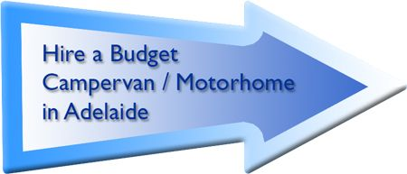 Budget campervan and motorhome hire in Adelaide.
