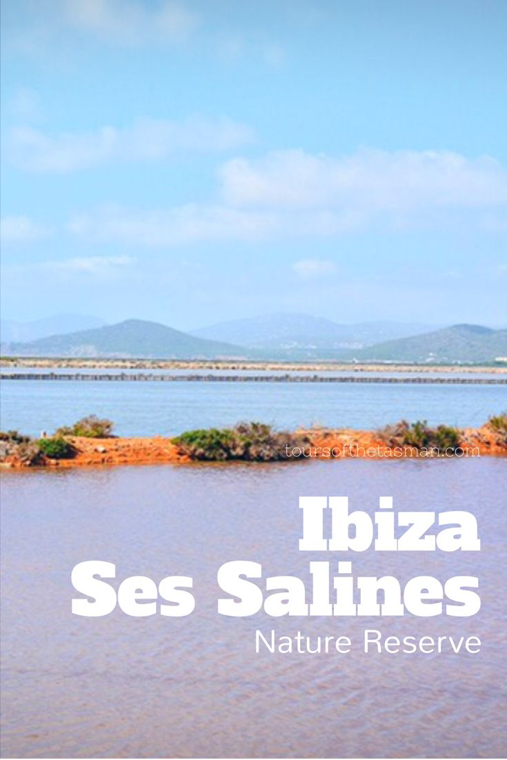 IBIZA - SES SALINES - bedrohtes Reiseziel