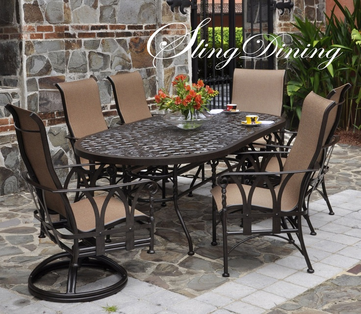 Pride family brands 39 outdoor dining outdoor patio for Outdoor furniture brands