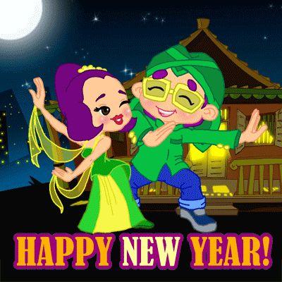 Happy New Year from Mas Be & Nimas
