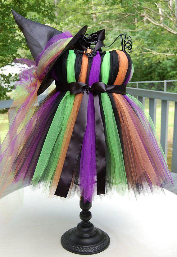 Witch Tutu Halloween costume