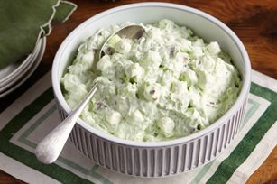 Watergate Salad recipe. This is a very recipe that we always use for St. Patrick's Day.