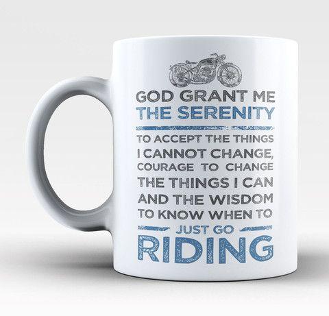 Motorcycle Serenity - Mug