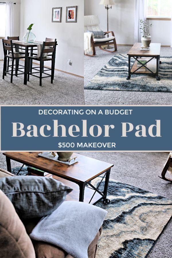 Bachelor Pad Decorating On A Budget Men Home Decor Masculine
