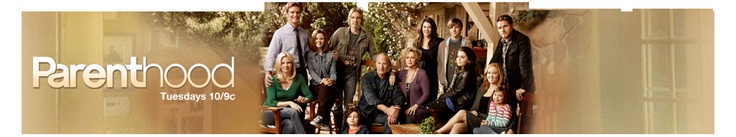 parenthood: one of our family's favorite shows and one i often recommend to our friends to understand a little bit of my life on what it's like to raise a child who has autism. and aside from the asd storyline, it's a great family drama series.