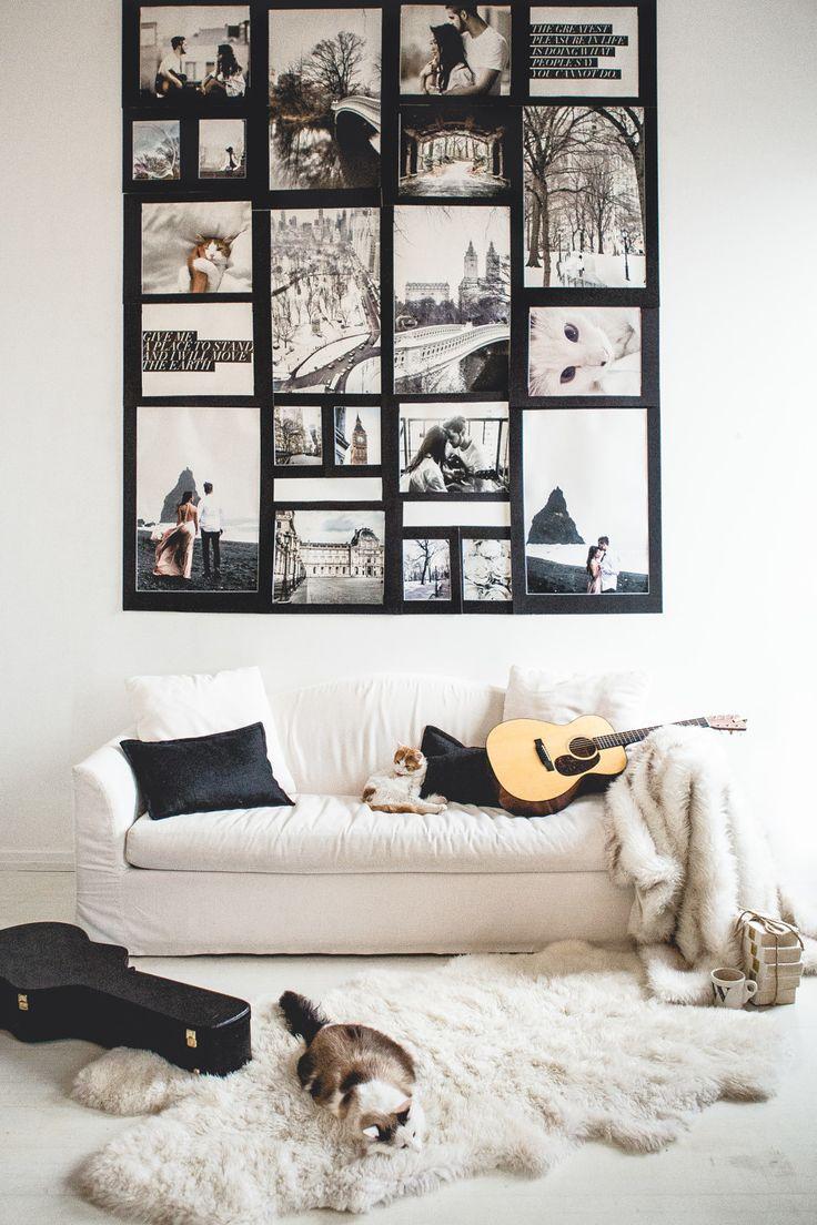 Best 25 photo collage walls ideas on pinterest 3 photo collage home decor ideas photo collage wall decor wendys lookbookwendys lookbook amipublicfo Images