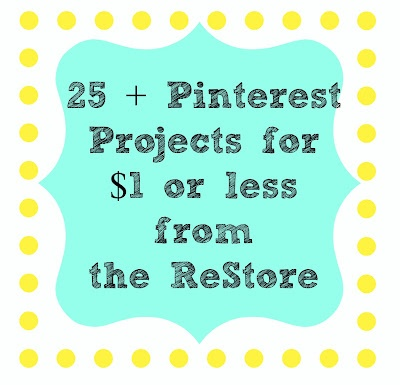 Fantastic ideas! Habitat for Humanity ReStore is AMAZING!: Idea, Source, Check, Craft Supplies, Craft Projects, Diy, Crafts