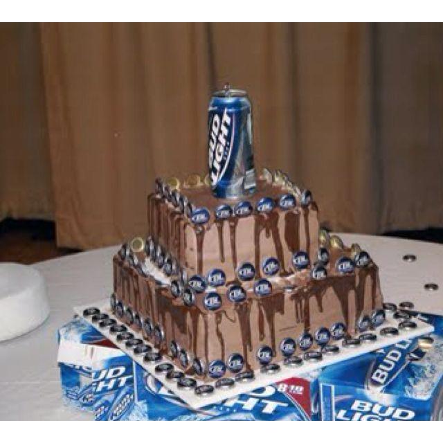 Redneck birthday cake lol