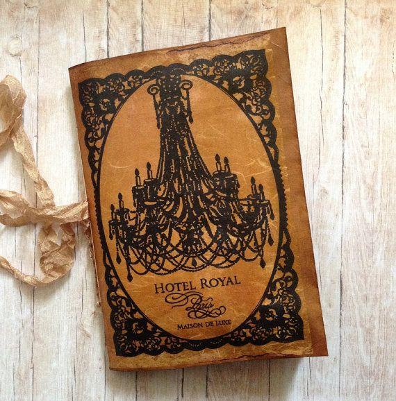 Handmade Junk Journal. Vintage style. by AStoryFullOfJournals