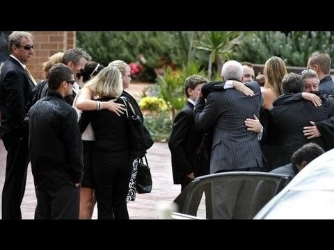 FUNERAL PHOTOS - Joost van der Westhuizen, rugby union player, dies at 45