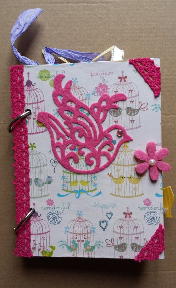 Junk Journal  Handmade  Shabby Chic by Hebina on Etsy, €13.80