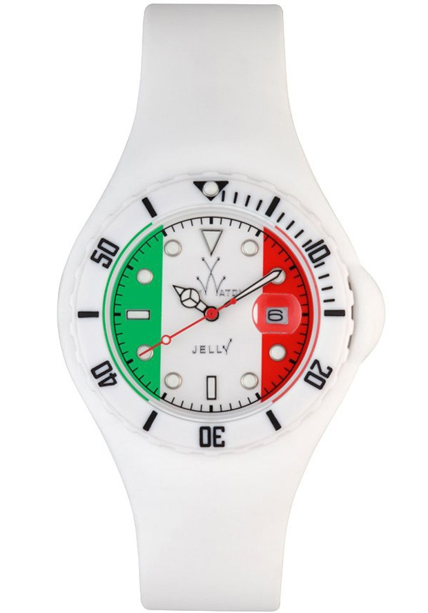 Price:$80.50 #watches ToyWatch JYF01IT, Plastic case, Plastic strap, White Dial, Quartz Movement, Scratch resistant mineral, Water resistant up to 5 ATM - 50 Meters - 165 Feet