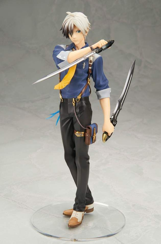 Japan Anime Figure Tales of Xillia 2 Ludger Will Kresnik Loose Figurine