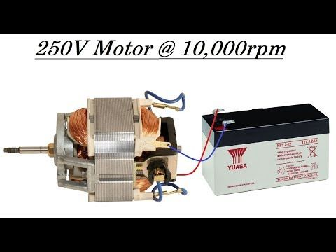 Run a High Torque Mixer/Drill Motor at 12V without any Circuit