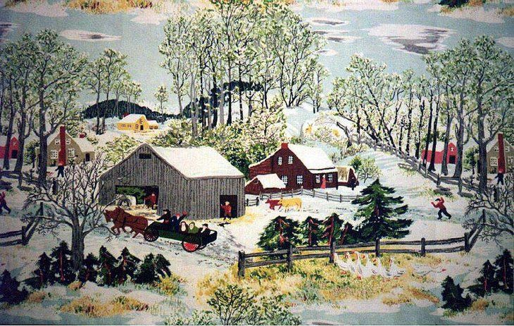 Early springtime by grandma moses art pinterest for Famous prints for sale