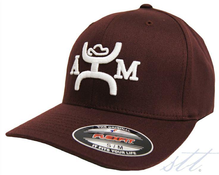 more photos 049ee 417d2 ... get order hooey am flexfit maroon hat gig em aggies this baseball cap  is 2497c 07dc5