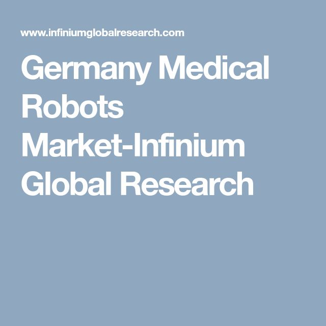 Germany Medical Robots Market-Infinium Global Research