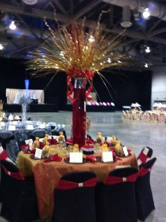 Mardi gras ball table decoration inspiring ideas