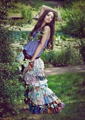 summer skirt: Boho Chic, Bohemian Fashion, Gypsy Style, Bohemian Skirts, Bohemian Girls, Bohemian Look, Summer Skirts, Maxi Skirts, Bohemian Gypsy