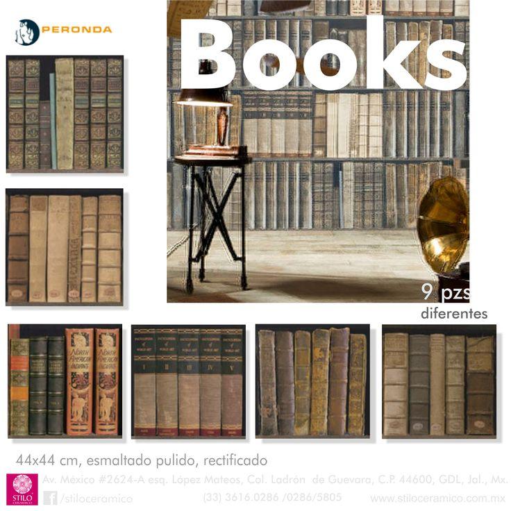 Books pisos y muros ceramicos esmaltados pulidos.