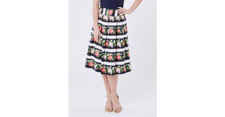 Rosey Sunrise Skirt