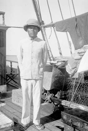 Japanese captain of a pearling lugger - Darwin 1937