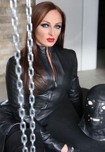 Lady Justizia Herrin In Sm Bdsm Heavy Rubber Domina
