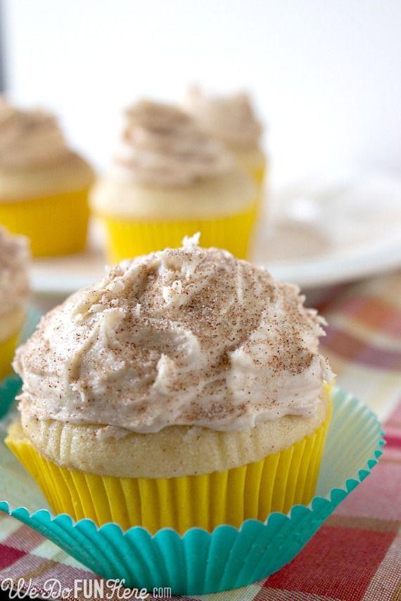 snickerdoodle cupcakes. | Cake Chaos. | Pinterest