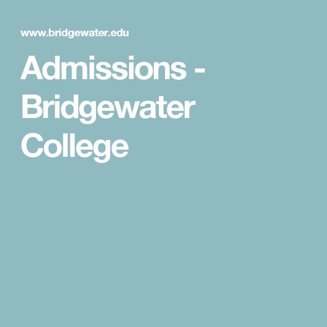 Admissions - Bridgewater College