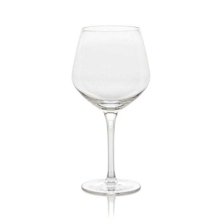 Nattie Big Red Wine Glass