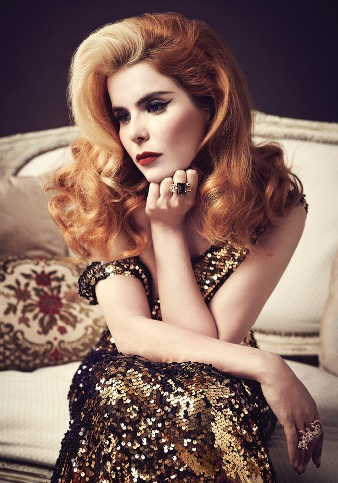 "Paloma Faith This Singer is awesome like a mix between Duffy, Amy Winehouse and Florence welch I lover her songs ""upside down"" and ""new York"""
