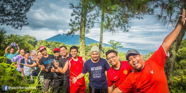 Trekking Nuansa Pedesaan di Villa Ratu Ciawi Bogor