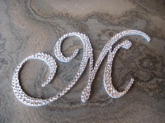 the letter m | single letter m font ilscript colour crystal single letter o