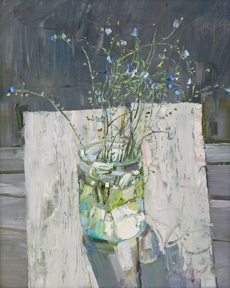 """Veronica Lobareva """"at noon on a bench"""""""