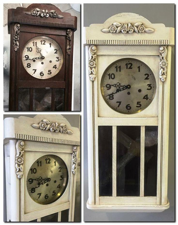 Vintage clock tranformed